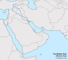 middle east map test test your geography knowledge middle east bodies of water quiz