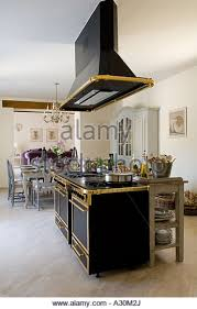 free standing room fans ornate extractor fan over freestanding gilt plated oven in open plan