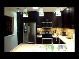 before and after kitchen shaker espresso cabinets youtube