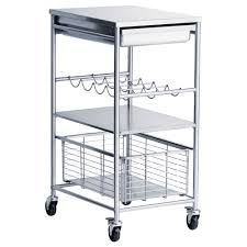 kitchen stainless steel kitchen cart inside pleasant stainless