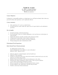 What To Write As Career Objective In Resume Dental Assistant Objective Resume Resume For Your Job Application