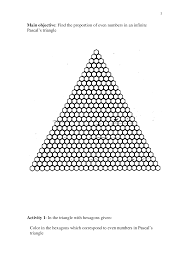17 best images of printable pascal triangle worksheet discrete