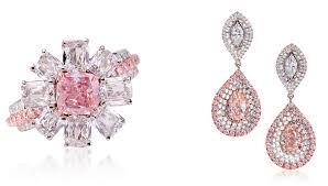 pink diamond earrings lugano diamonds presents fancy pink diamonds robb report