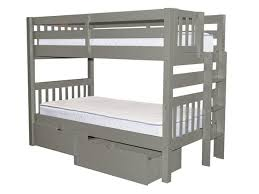 Bunk Bed Ladder Bunk Bed Gray 2 Drawers 516 Bunk Bed King