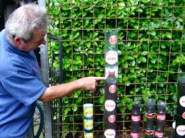 Vertical Garden Vegetables by Bottle Tower Gardening How To Start Willem Van Cotthem