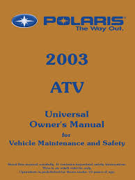 100 2003 polaris predator 500 service manual 1008 manuals