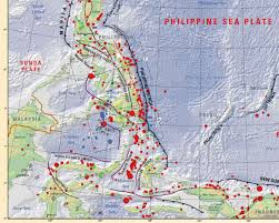 Plate Boundaries Map Earthquake Report Celebes Sea Jay Patton Online