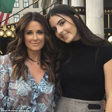 kyle richards needs to cut her hair real housewives of beverly hills s kyle richards and her daughter