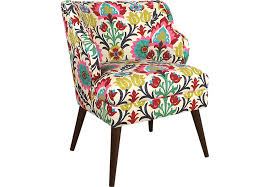 Floral Accent Chairs Living Room Floral Accent Chair Accent Chairs