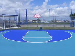 basketball courts with lights near me quality court industries project gallery