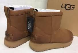 s ugg australia mini leather boots ugg australia mini leather waterproof chestnut boots