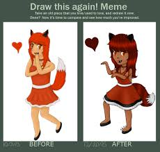 What Does The Fox Say Meme - draw it again what does the fox say by pekapi on deviantart