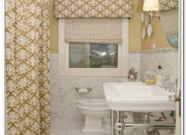 Bathroom Window Curtains Ideas Small Bathroom Window Curtain Ideas Vozindependiente