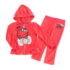 toddler kitty velour glitter detail hoodie boscov u0027s