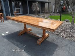make a dining table dark brown varnished wooden dining table grey
