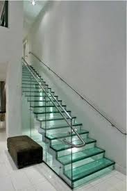 Glass Banisters For Stairs 33 Glass Staircase Design Ideas Bringing Contemporary Flare Into