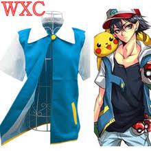 Ash Ketchum Halloween Costume Compare Prices Ash Ketchum Cosplay Costume Shopping Buy
