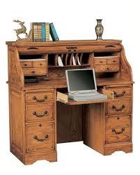 Secretary Style Desk by Roll Top Secretary Desk With Hutch Decorative Desk Decoration