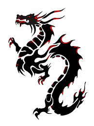 dragon dragon head black dragon and chinese dragon