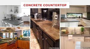 kitchen cabinets and countertops ideas 55 best kitchen countertop ideas for 2021