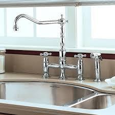 bridge faucets for kitchen kgston giagni hudson hk101 faucet with
