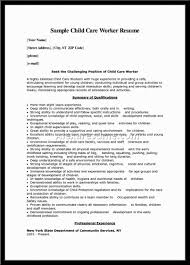 Child Care Provider Resume Examples by Resume For Child Care Provider