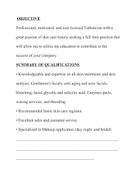 Sample Resume For Cosmetology Student by Home Design Ideas Medical Esthetician Cover Letter