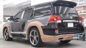 toyota international toyota land cruiser tuned by wald international for the tokyo auto