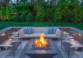 why new englanders are going wild for fire pits the boston globe