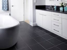 Black And White Kitchen Floor Tiles - white cabinets with black tile floor best ideas for kitchen