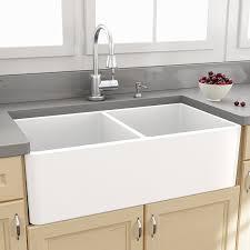 Nantucket Sinks Cape  X  Double Bowl Kitchen Sink With Grids - Farmhouse double bowl kitchen sink