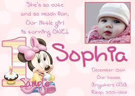 baby girl 1st birthday 1st birthday invitations girl free template baby girl s 1st
