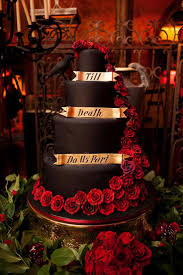Halloween Wedding Cake by 205 Best Chwv Halloween Weddings Images On Pinterest