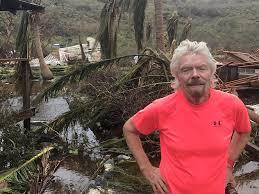 Necker Island by Hurricane Irma Richard Branson Shows Damage To Necker Island