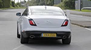 jaguar xj type 2015 jaguar xj facelift spied virtually undisguised