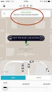 Denver Colorado Airport Map by Abide Transportation Expedition Backcountry Adventures