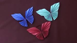 paper butterfly origami very easy paper arts and crafts for kids