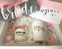 engagement gift basket engagement gift basket etsy