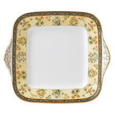 Housewarming Gifts India by India Square Cake Plate Wedgwood Us