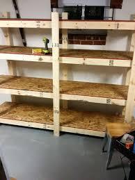 articles with basement storage shelf ideas tag basement shelving