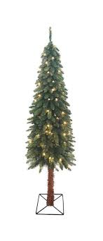 5 ft pre lit two tone alpine artificial tree clear lights