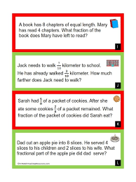equivalent fractions word problems grade 6 fraction word