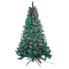 trim a home 7 multicolor pre lit cambridge pine tree
