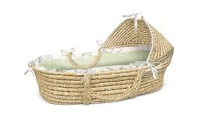 amazon com badger basket natural moses basket with hood sage