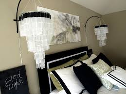 Easy Diy Chandelier Black And White Master See Cate Create
