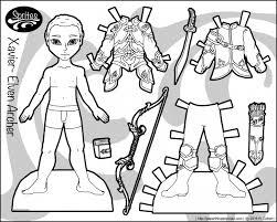 doll printable boy paper dolls