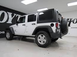 white four door jeep wrangler 2017 jeep wrangler unlimited 4x4 4 door suv sport white suv