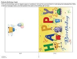 birthday cards to print online birthday card best printable