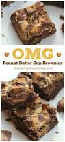 omg peanut butter cup brownies u2013 the baking chocolatess