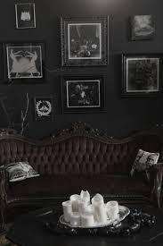 black on black walls home decor antique